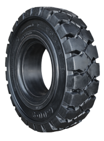 Forte solid rubber tires